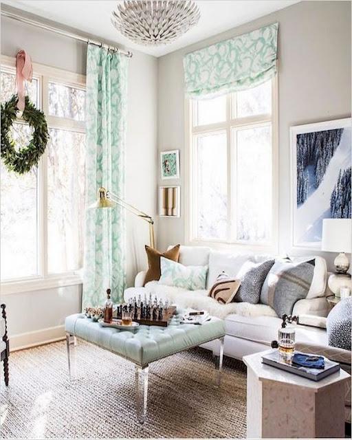 country farmhouse living room curtains ideas
