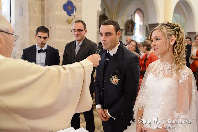 voeux des mariés cérémonie religieuse mariage photo