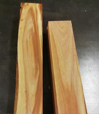 Dřevo z vlastní zahrádky