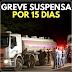 ACORDO: Caminhoneiros fecham acordo com governo e suspendem greve por 15 dias