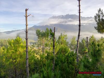 Gunung Kinabalu Waktu Pagi Kundasang