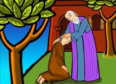 Resultado de imagen para imagenes de San Lucas 15,1-32 para niños