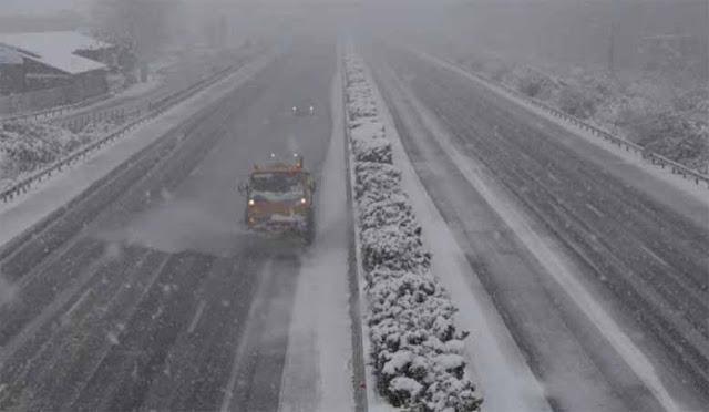 """Προληπτικά μέτρα προς τους οδηγούς συστήνει η ΜΟΡΕΑΣ Α.Ε. για την κακοκαιρία """"Ηφαιστίων"""""""