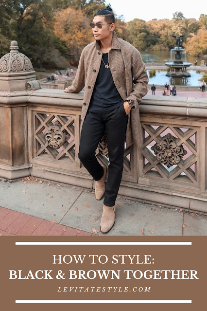 How to Wear Brown and Black Together: A Style Guide for Men