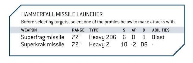 reglas bunker Hammerfall Missile launcher
