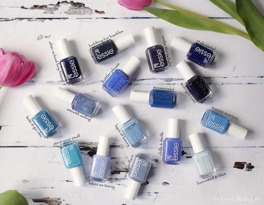 essie - blau