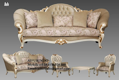 Indonesia Furniture Exporter,Classic Furniture,French Provincial Furniture Indonesia code A166 classic sofa white painted french style ,sofa living room classic french vintage