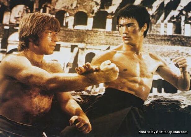 pukul Bruce Lee