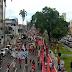 Manifestantes protestam contra o governo Bolsonaro no Centro de João Pessoa
