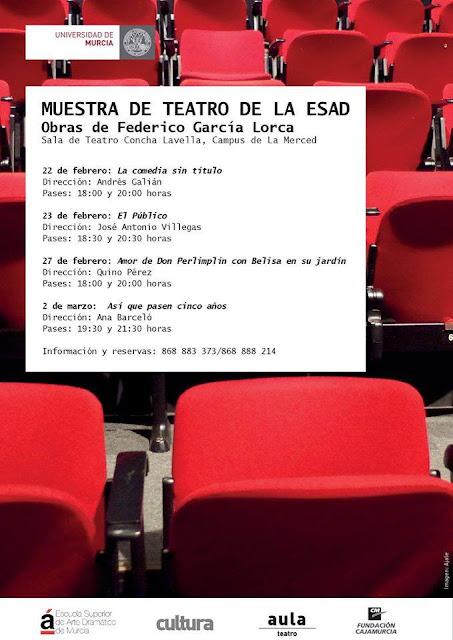 Muestra de teatro de la ESAD