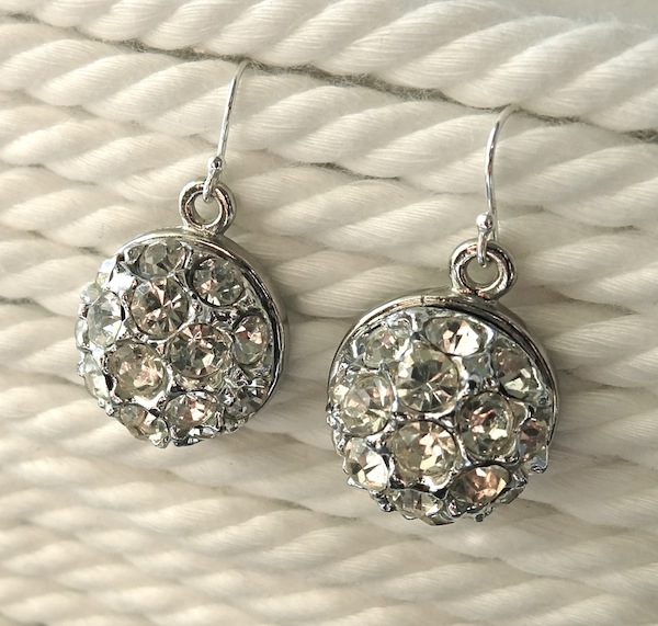 Twinkle And Twine Diy Vintage Button Earrings