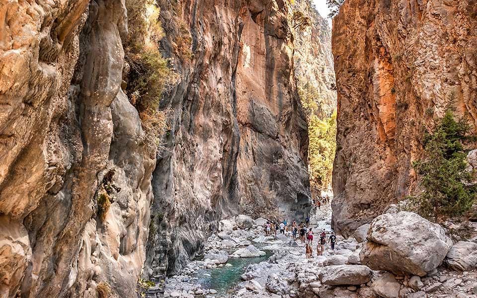 Samaria Gorge Destinasi Travel Wisata Favorit Yunani