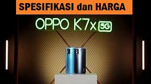 OPPO K7X 5G Spesifikasi dan Harga