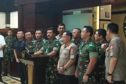 TNI-Polri Siap Kawal Hasil Pemilu, Panglima: Tidak Ada Ampun bagi Perusak Demokrasi