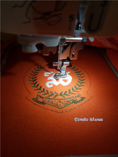 how to embroider an insulated foam can bottle beer koozie sleeve