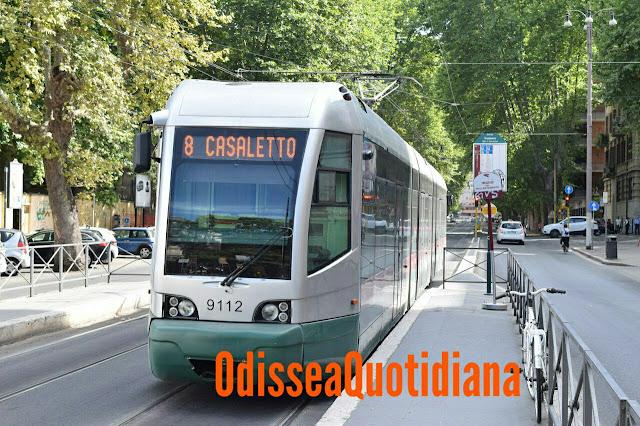Ancora problemi ai tram di Roma, tocca alla linea 8