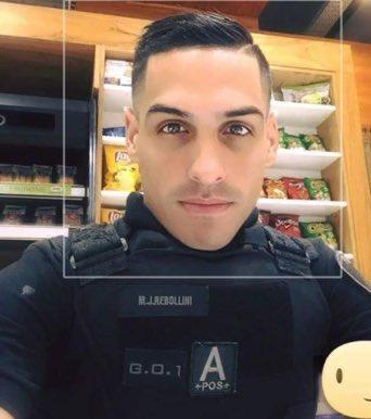 policía guapo