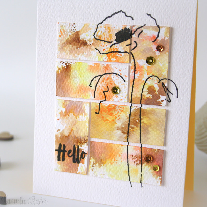Altenew Painted Poppy - Hannelie Bester