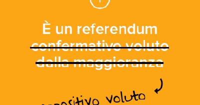 Referendum Costituzionale: 1. Chi l'ha voluto?