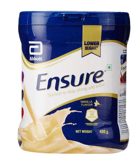 Best Health Nutritional Drink for Adult: Ensure Balanced Adult Nutrition Health Drink - 400g  (Vanilla)