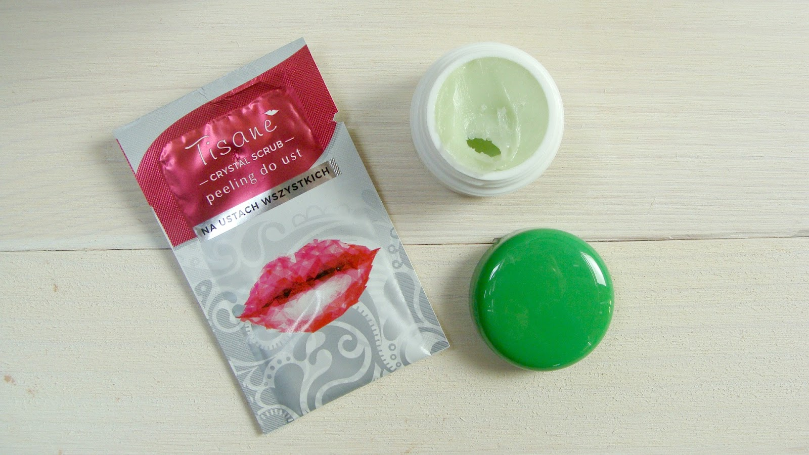 Nowości od Tisane - peeling do ust i balsam Fresh