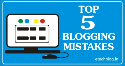 TOP 5 BLOGGING MISTAKES (made by EVERY NEW BLOGGER).