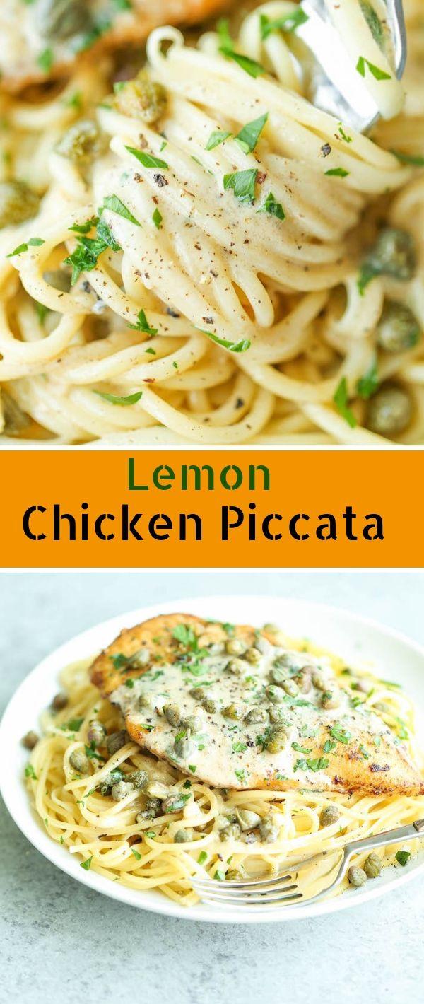 Lemon Chicken Piccata #Lemon #Chicken #Piccata Chicken Recipes Healthy, Chicken Recipes Easy, Chicken Recipes Baked,