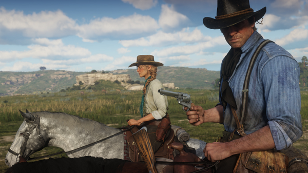 Red Dead Redemption 2 - Interacting with people