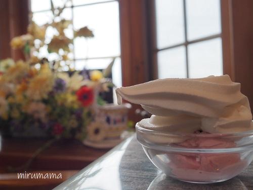 アイスとソフトクリーム