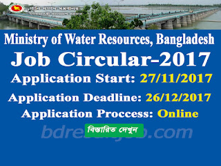 Ministry of Water Resources Recruitment Circular 2017