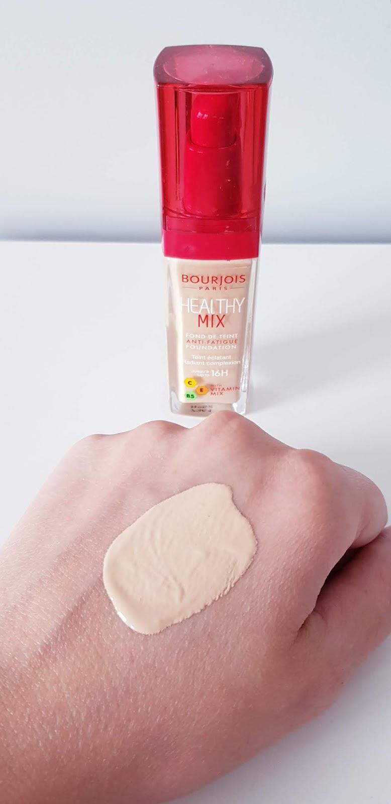 Bourjois healthy mix podkład z witaminami przykrywający oznaki zmęczenia