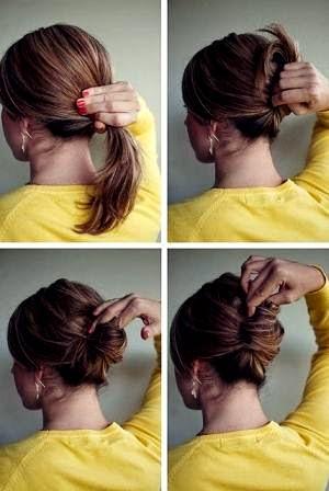 Cara Mengikat Rambut Pendek Sebahu Ala Korea