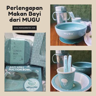 produk peralatan makan bayi dari MUGU