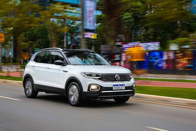 VW T-Cross 2021 - 5º carro mais vendido do Brasil
