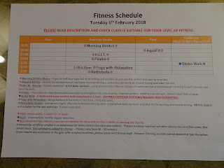 fitness program at stobo house