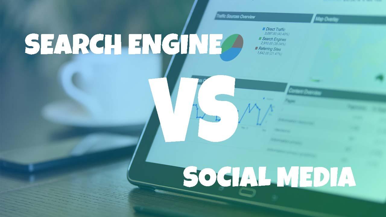 Visitor Search Engine vs Visitor Sosial Media