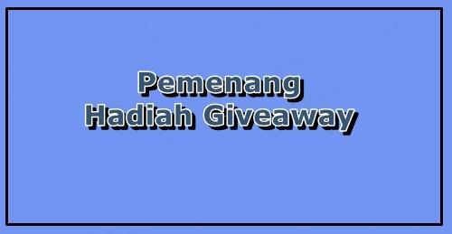 Pemenang Hadiah Giveaway RamadhanRaya 2018 by aerillhassan