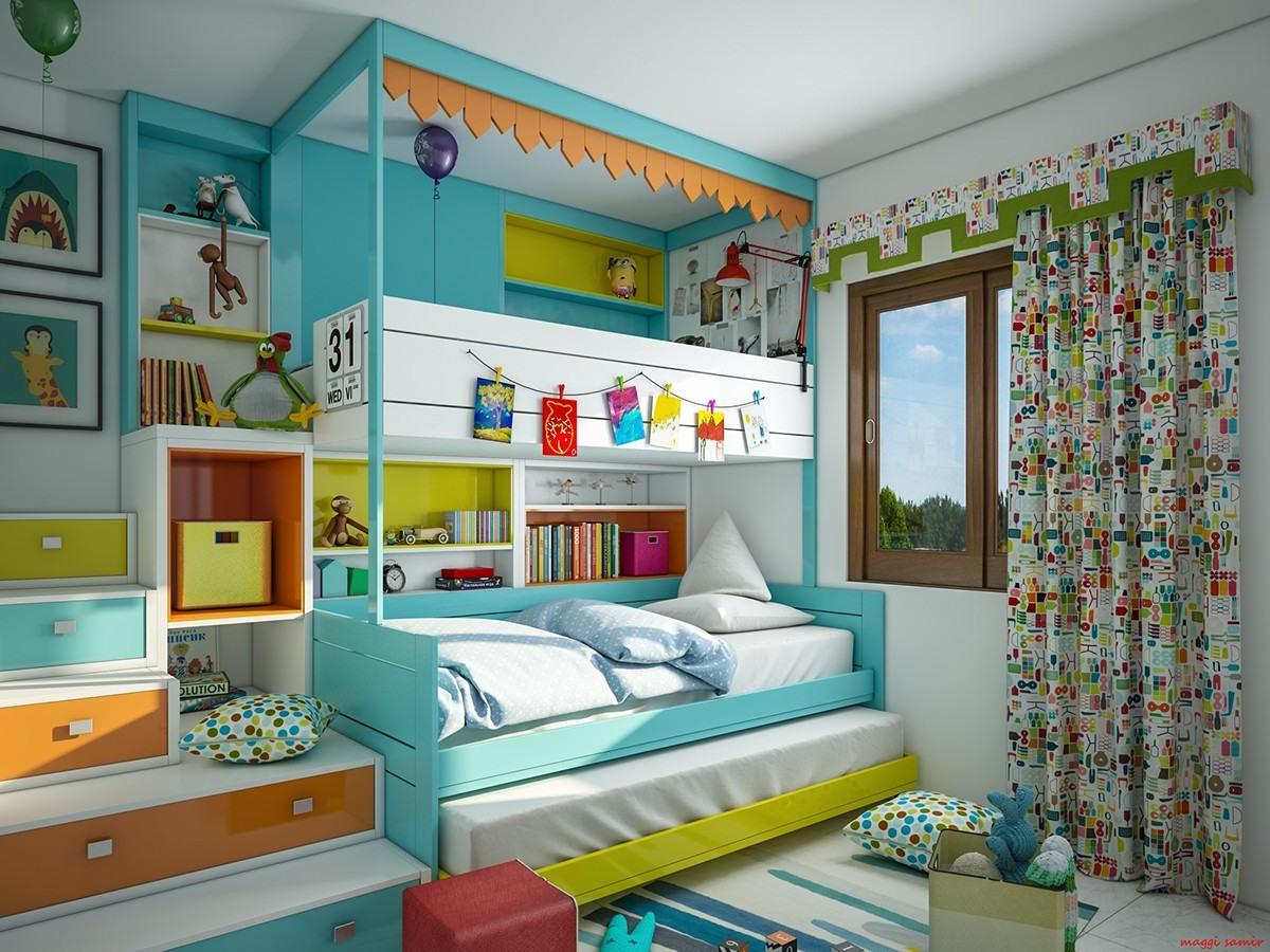1001 Ide Kamar Tidur Anak Full Color Terbaru 2016