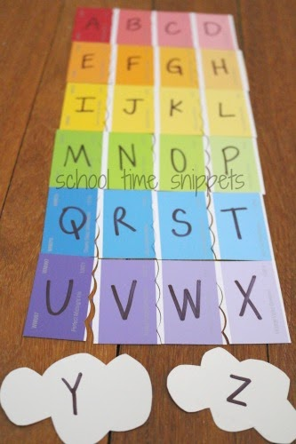 diy alphabet puzzle