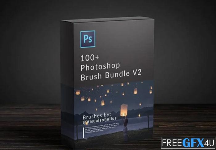 100+ Photoshop Brush Bundle V2 With Tutorials