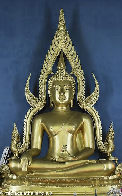 Bangkok, Buddha from Wat Benchamabophit