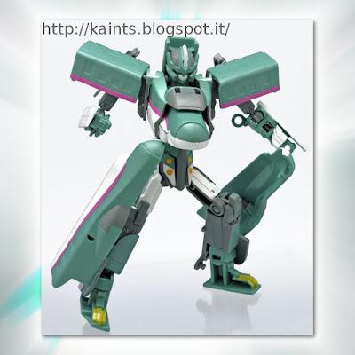 Dalla F-Toys il plastic kit dello Shinkalion E5 HAYABUSA