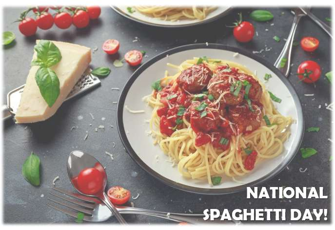 National Spaghetti Day Wishes Sweet Images