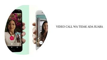 Penyebab Video Call WA Tidak Ada Suara