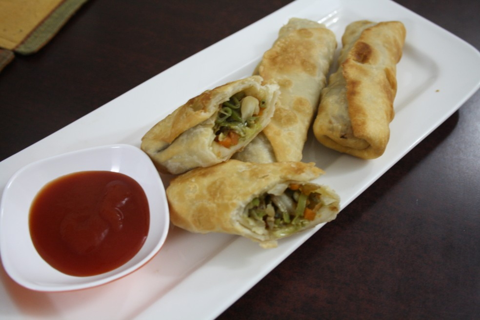 Vegetable Spring Rolls How To Make Crispy Springs Rolls At Home