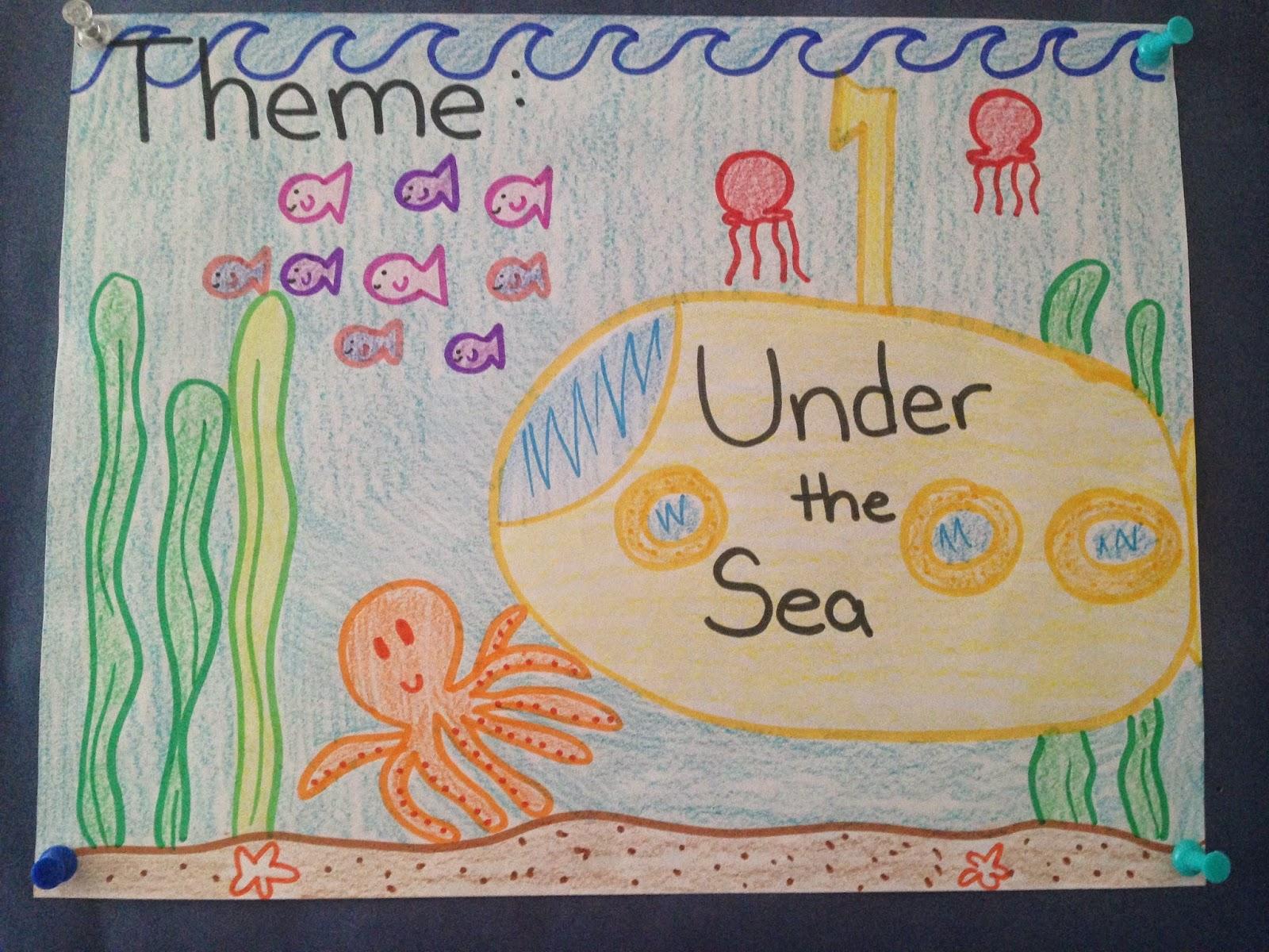 Keep Calm And Teach On Under The Sea