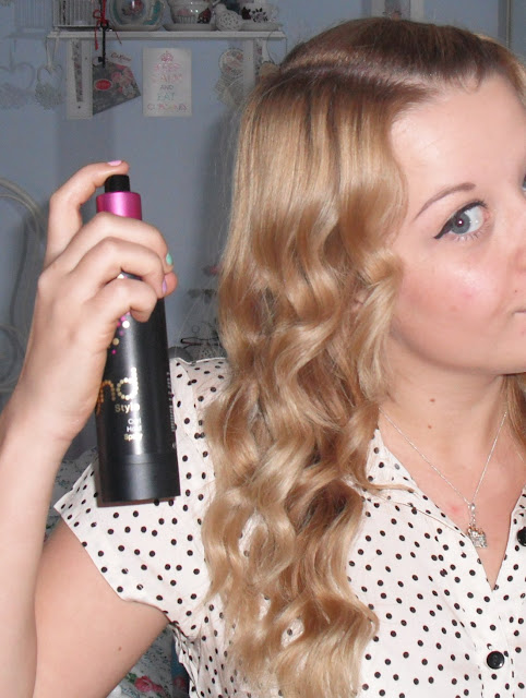 Ghd Curl Hold Spray Review Victoria S Vintage Blog