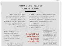 Mengungkap Lengkap Sisi Tersembunyi Kronologi Kasus Saiful Mahdi