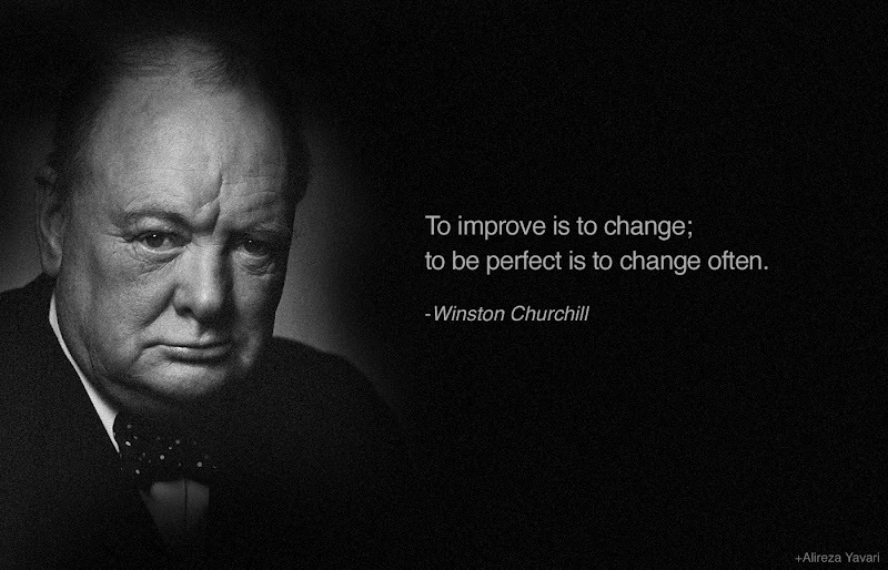 Famous Quotes By Winston Churchill: MC FÜBBment: Inspirational Words