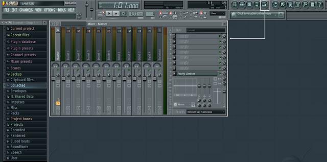 fl studio 11 mixer